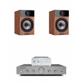 CAMBRIDGE DACMAGIC 100 + AX-A25 + FYNE AUDIO F300