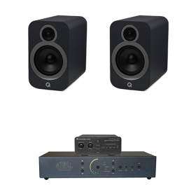 CAMBRIDGE DACMAGIC 100 + ATOLL IN30 + Q-ACOUSTICS 3030I