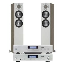 ROTEL CD11 TRIBUTE + A11 TRIBUTE + MONITOR AUDIO BRONZE 200