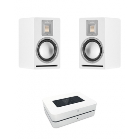 BLUESOUND POWERNODE 2I + AUDIOVECTOR QR1