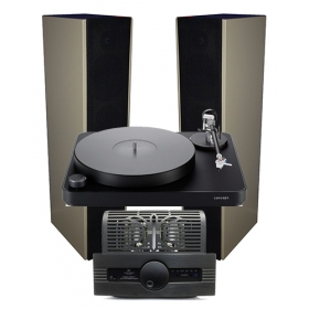 CLEARAUDIO CONCEPT PERFORMER + SYNTHESIS ROMA 96DC+ + EVEREST NUANCE II EVO 2