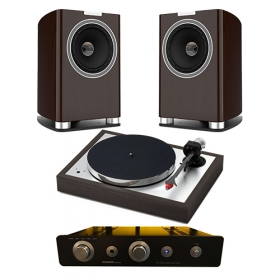 PROJECT THE CLASSIC EVO + SUGDEN A21i + FYNE AUDIO F700
