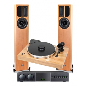PROJECT X-TENSION 9 + SUMIKO BLUE POINT SPECIAL EVO III + NAIM SUPERNAIT 3 + APERTURA ARMONIA EVO