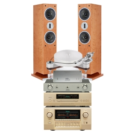 CLEARAUDIO INNOV COMPACT MAGNIFY STRAD + SUGDEN PA-4 + 3D NANO TRANSP SIGN V5 + ACCUPHASE DP570 + E800 + PROAC K3