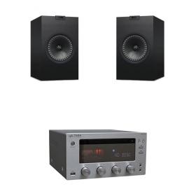 Taga Harmony HTR1000CD + Kef Q100V