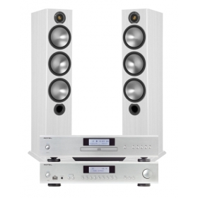 Rotel CD14 + A12 + Monitor Audio Bronze 6