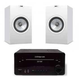 Cambridge One V2 + Kef Q300V