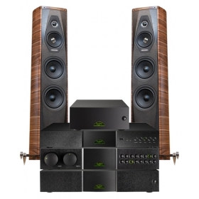 Naim Dac + Nac 282 + HiCap DR + NAP 250 DR + Sonus Faber Olympica III