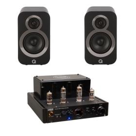 Taga Harmony HTA25B + Q-Acoustics Q3010i