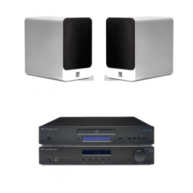 Cambridge CD10 + AM10 + Q-Acoustics Concept 20
