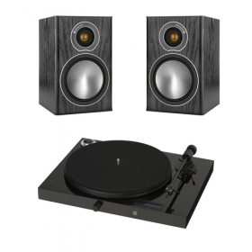 PROJECT JUKEBOX E + MONITOR AUDIO BRONZE 1