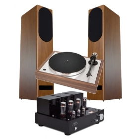 PRO-JECT CLASSIC + CLEARAUDIO NANO PHONO V2 + LINE MAGNETIC LM 34 + JMR EUTERPE JUBILE