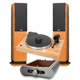 PRO-JECT XTENSION 9 EVO + ORTOFON QUINTET BRONZE + PRO-JECT PHONO BOX RS + GATO AUDIO DIA 250-S + PROAC RESPONSE D30RS