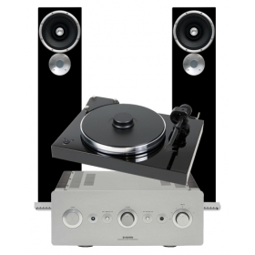 PRO-JECT XTENSION 9 SUPERPACK + EXPOSURE XM3 + SUGDEN MASTERCLASS IA-4 + ZU AUDIO DRUID MK5