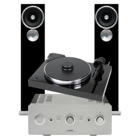 PRO-JECT XTENSION 9 SUPERPACK + EXPOSURE XM3 + SUGDEN MASTERCLASS IA-4 + ZU AUDIO DRUID MK5