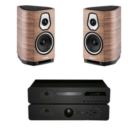 ATOLL CD80 SE2 + IN80 SE + SONUS FABER SONETTO I