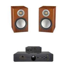 Cambridge Dacmagic 100 + Atoll IN80 SE + Monitor Audio Silver 50