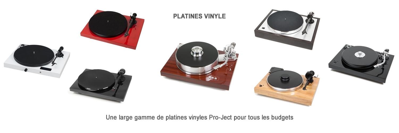 Platines Vinyle